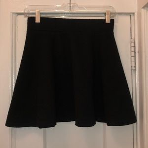 H&M Quilted Mini Skirt